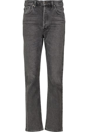 Goldsign The Morgan high-rise straight jeans