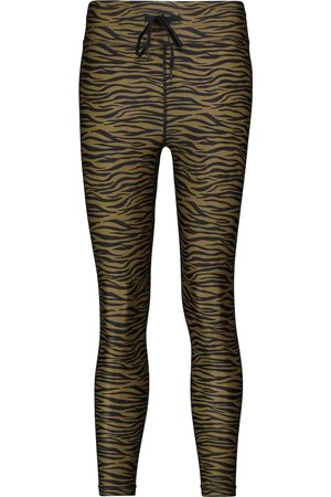 The Upside Malibu Tiger cropped leggings