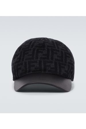 Fendi FF wool baseball cap