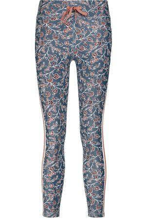 The Upside Women Leggings - Sante Fe floral cropped leggings