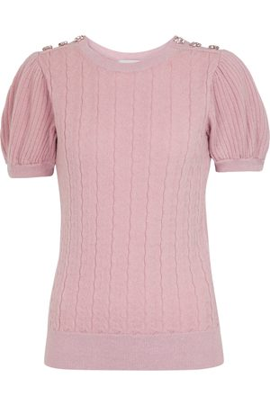 Erdem Women Sweaters - Belva wool and cashmere sweater