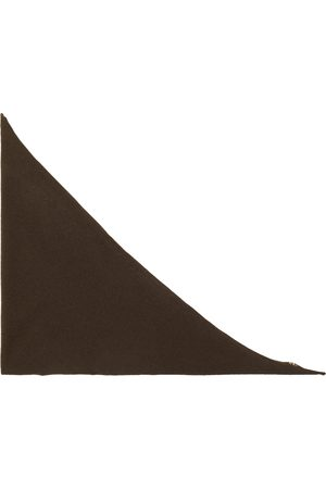 EXTREME CASHMERE Cashmere-blend triangle scarf