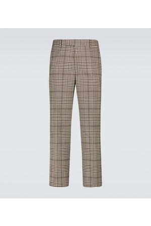 DRIES VAN NOTEN Men Formal Pants - Wool and cotton blend pants