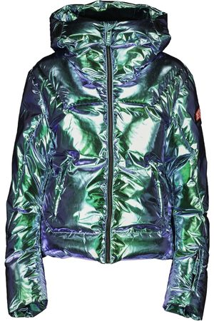 JET SET Julia foil-effect ski jacket