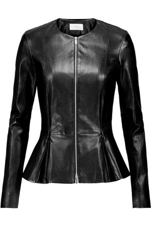 The Row Anasta leather jacket