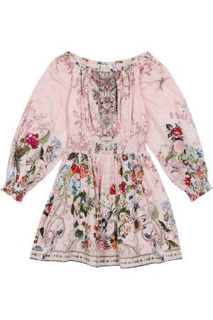 Camilla Embellished floral dress