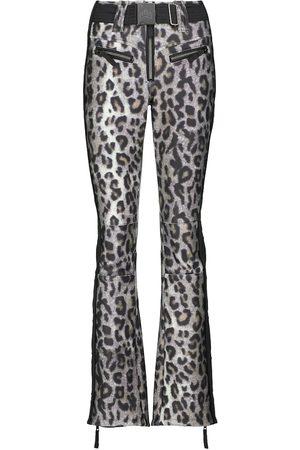 JET SET Tiby leopard-print ski pants