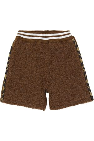 Fendi Wool-blend shorts