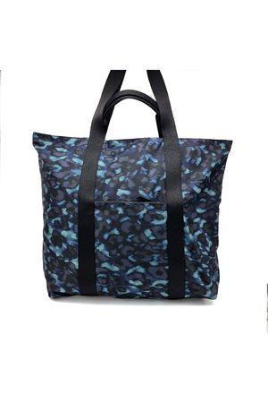 Nooki Women Purses - Venus Printed Shopper - Blue Leopard