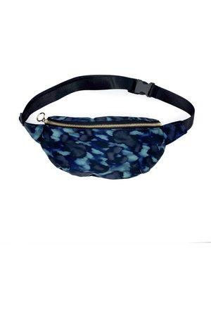 Nooki Maisie Waist Bag - Dark Blue Leopard