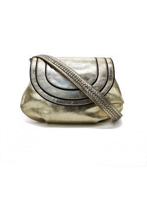 Nooki Women Purses - Kingsley Shoulder Bag - Gold
