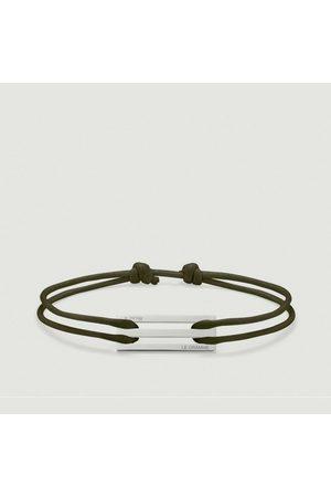 Le Gramme Bracelets - 25/10g Cord Bracelet Khaki