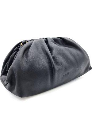 Nooki Women Clutches - Lucinda Ruched Clutch Bag - Black