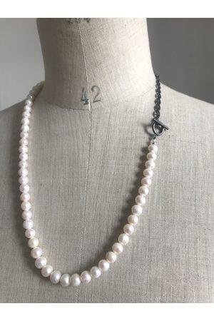 Collard Manson Men Necklaces - Pearl necklace