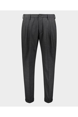 Paul & Shark Technical TRAVEL WOOL wool trousers with elastic belt