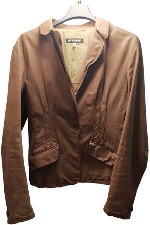 Gianfranco Ferré Leather short vest
