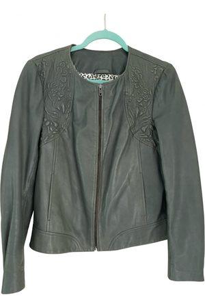 Naf-naf Leather jacket