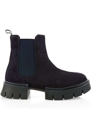 Marc Cain SUEDE CHELSEA BOOT WITH COMBAT SOLE