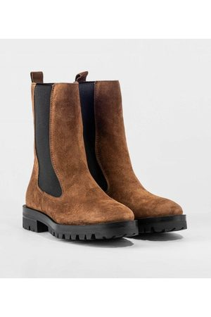 Alpe Suede Pull On Chelsea Boot-Poting