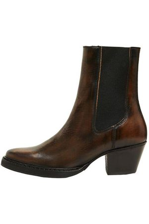 SELECTED Cece Leather Cuban Heeled Chelsea Boot