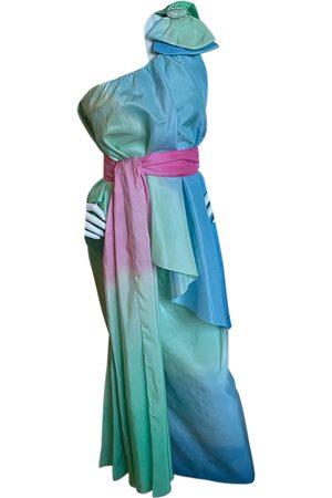 Leonard Silk maxi dress