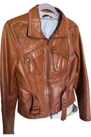 Coccinelle Leather biker jacket