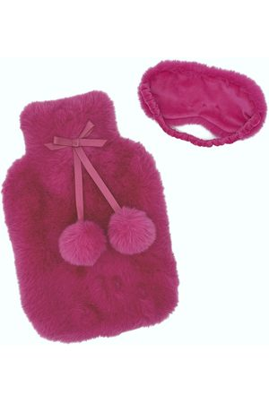 Nooki Hot Water Bottle Cover - Candy Floss