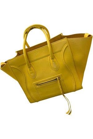 Céline Luggage Phantom leather tote