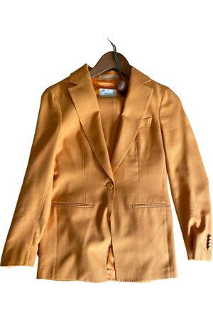 SUISTUDIO Linen suit jacket