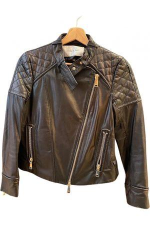 Bimba y Lola Leather biker jacket