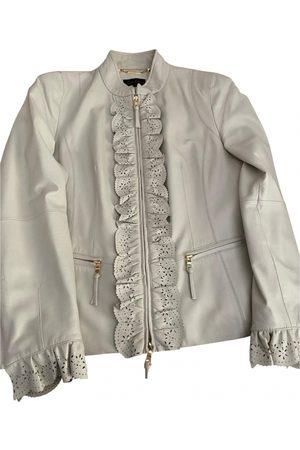 LUISA SPAGNOLI Leather biker jacket