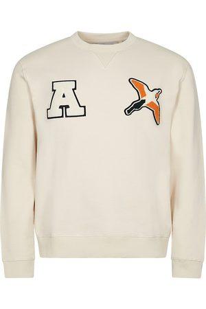 Axel Arigato Men Sweatshirts - Varsity Bee Bird Sweatshirt - Pale