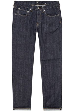 Edwin ED 55 Jeans Red Listed Selvage Denim - Rinsed