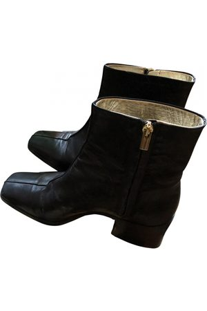 SUZANNE RAE Leather ankle boots