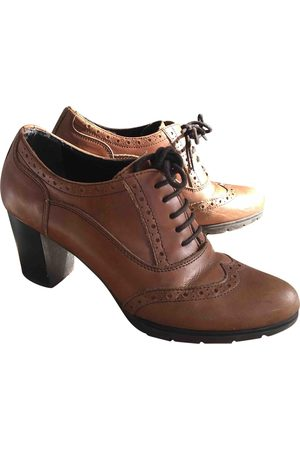 Minelli Leather lace up boots