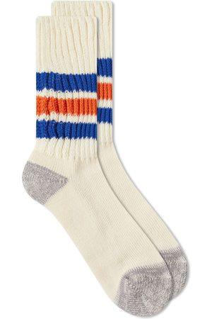 RoToTo Men Socks - Coarse Ribbed Old School Crew Socks