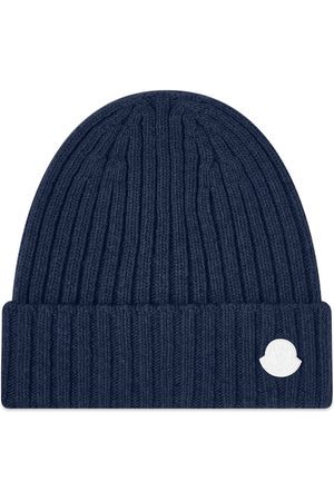 Moncler Genius Men Beanies - X Hyke Ribbed Knit Logo Beanie