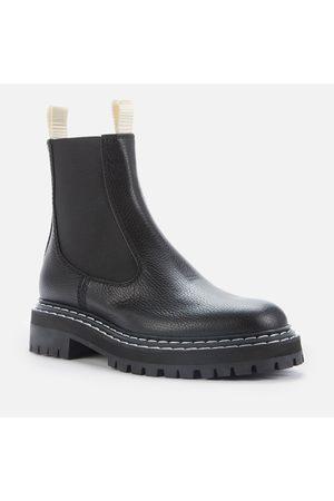 Proenza Schouler Women's Lug Sole Leather Chelsea Boots