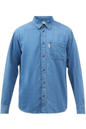 Nudie Jeans Men Denim - Hebbe Denim Shirt - Mens