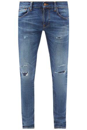 Nudie Jeans Tight Terry Distressed Skinny-leg Jeans - Mens