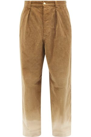 NICK FOUQUET Men Pants - Teodoro Ombré-corduroy Trousers - Mens