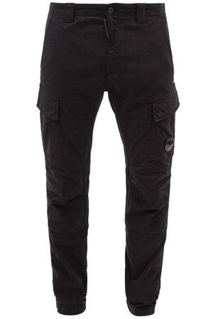 C.P. Company Cargo-pocket Cotton-fleece Tapered-leg Track Pants - Mens