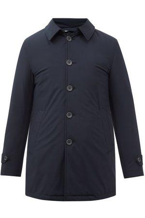HERNO Washington Down-filled Nylon-blend Coat - Mens - Navy