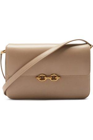 Saint Laurent Maillon Medium Leather Shoulder Bag - Womens
