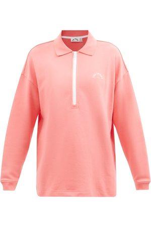 The Upside Banzai Cotton-jersey Polo Sweatshirt - Womens