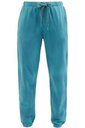 The Upside Women Sweatpants - Moonstone Lennox Cotton-jersey Track Pants - Womens