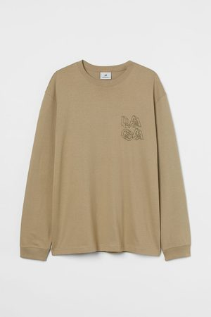 H&M Men Shirts - Relaxed Fit Jersey Shirt
