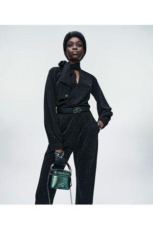 Karl Lagerfeld Women Jumpsuits - SPARKLE JUMPSUIT