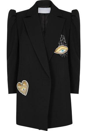 OSMAN Women Blazers - Carlap appliquéd blazer