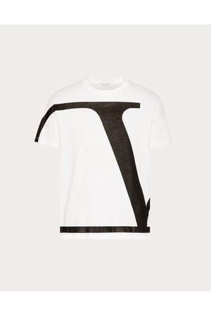 VALENTINO Vlogo Signature Cotton T-shirt Man / 100% Cotton L